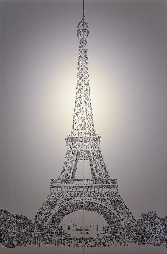 Eiffel Tower Mr Doodle