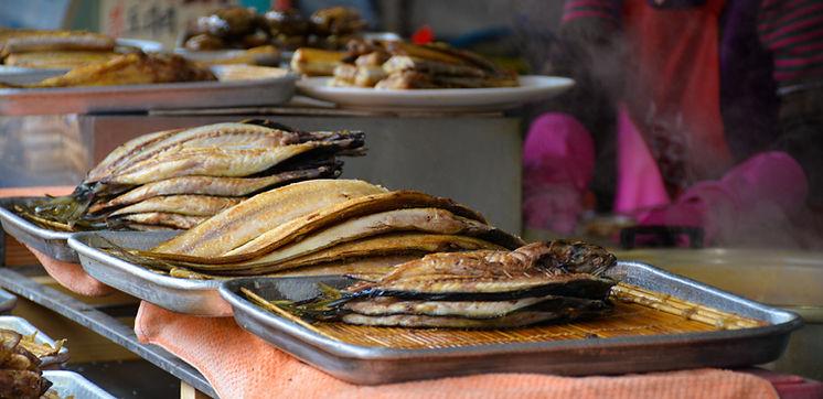Baked Fish Jagalchi Busan