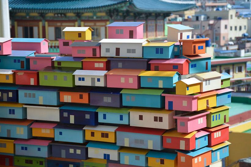 Busan Gacheon Cultural Village