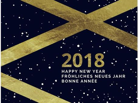 Goodbye 2017 – Welcome 2018!