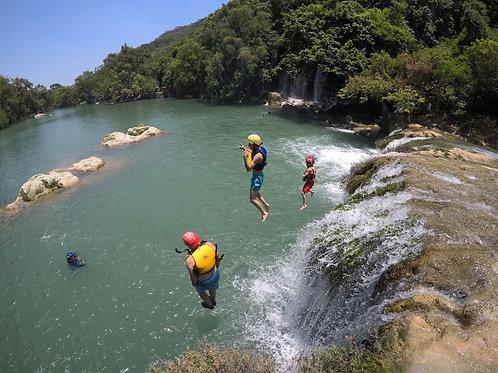 Tour salto de cascadas en Micos