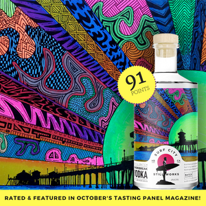 Shorebreak Vodka rated 91 points by Anthony Dias