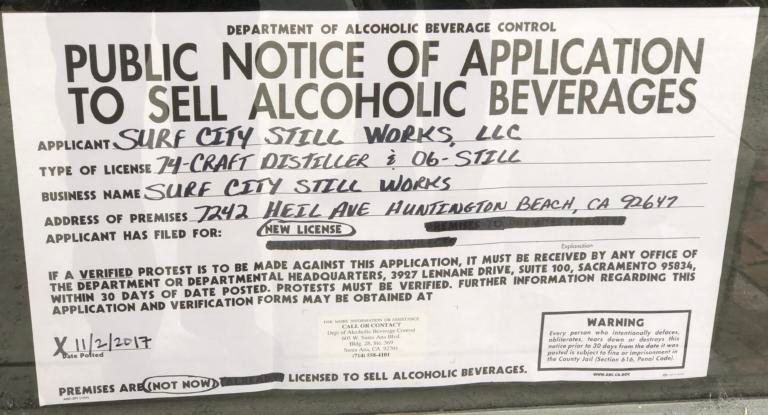 ABC LICENSE APPROVED