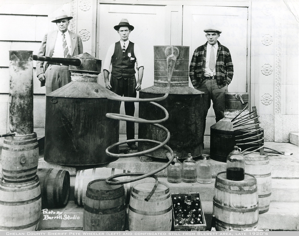 "MYTH: Only ""Moonshiners"" make moonshine"