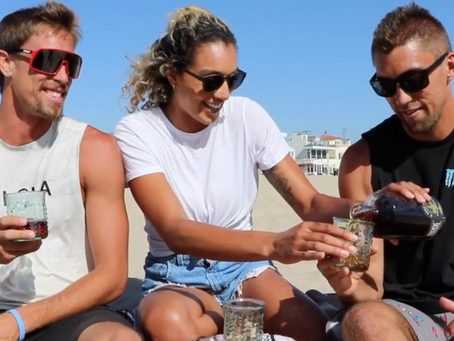 PRO VOLLEYBALL'S CRABB BROTHERS & BRANDIE WILKERSON REVIEW SCSW PACIFIC RESERVE BOURBON