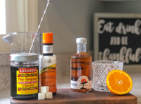 SCSW OLD FASHIONED CRAFT COCKTAIL RECIPE