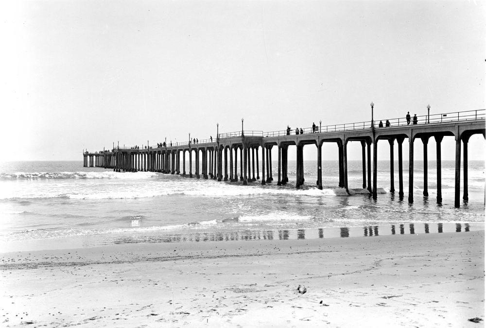 Huntington Beach Pier 1914