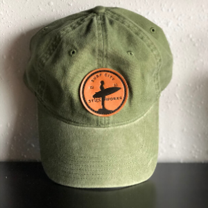 Dad Hat (leather patch)