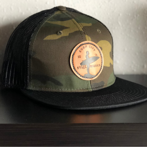 Trucker Hat (leather patch)