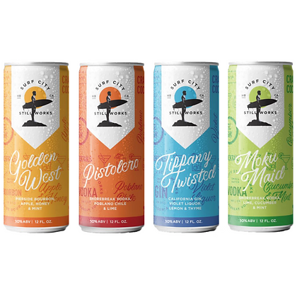 Mixed Pack Canned Cocktails (4 pack)