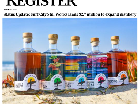 SCSW LANDS LEAD BUSINESS STORY ON OC REGISTER