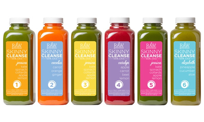 Raw Generation is a healthy juice company located in New Jersey