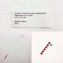 """""""Label for artwork"""" Ink Print."""
