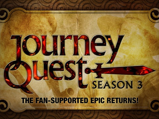 Shooting Wrapped on JourneyQuest 3!