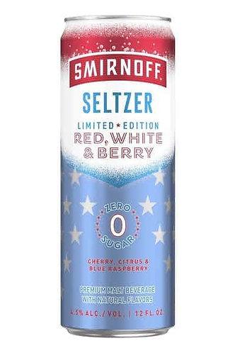 Smirnoff Seltzer: Red, White & Blue