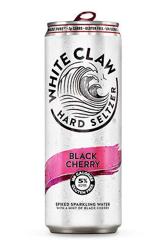 White Claw Black Cherry Hard Seltzer