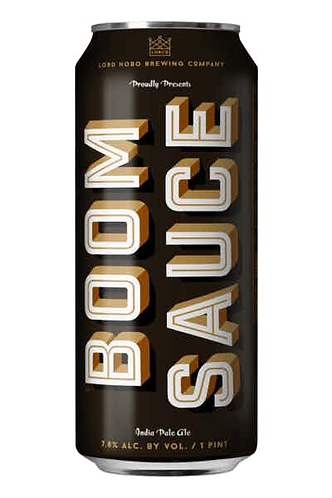 Lord Hobo Boom Sauce Double IPA