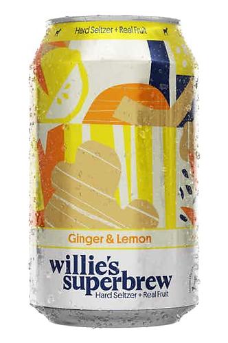 Willie's Superbrew Sparkling Ginger Lemon