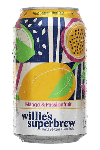 Willie's Superbrew Sparkling Mango & Passionfruit