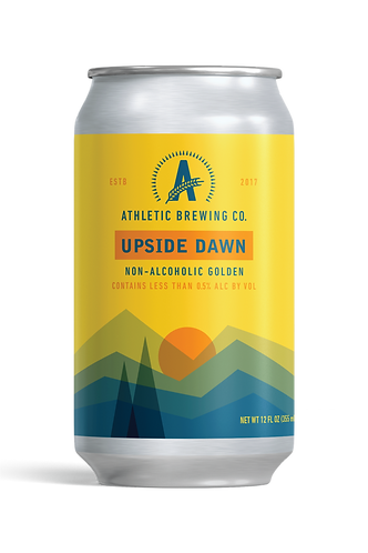 Athletic Brewing Upside Down