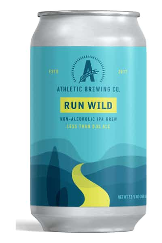 Athletic Brewing Run Wild Non-Alcoholic IPA