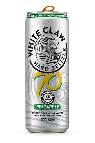 White Claw Pineapple 70cal
