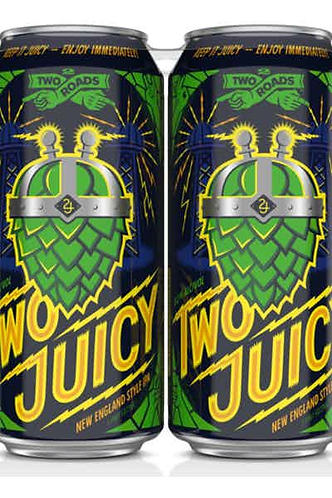 Two Roads Two Juicy - Hazy Juicy IPA
