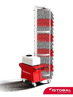 еднчеткова машина за измиване на автобуси