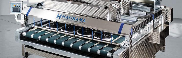 автоматична машина за изпиране на килими серия HYM F