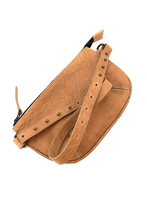 BELT BAG TUMBLED LEATHER