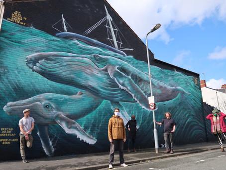 Whales under the Stadium - No Ice Caps, No Cardiff