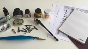 ¿Qué necesitas para empezar a hacer caligrafía?