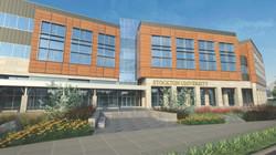 Academic Building Rendering
