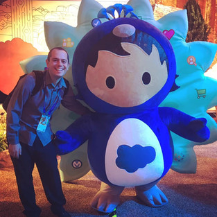 The face behind Salesforce