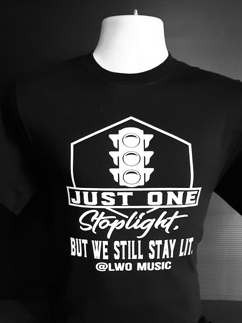 """One Stoplight"" Shirt in Black"