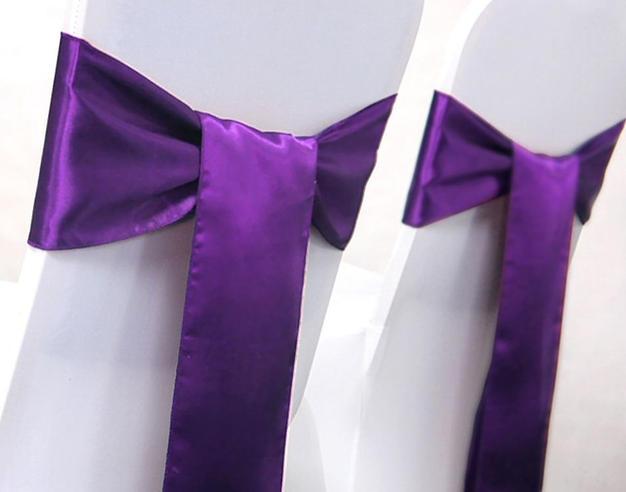 Purple sash - $2.20