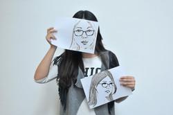 我畫我自己畫中的自己