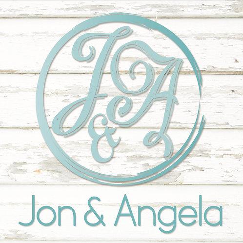 Signed copy of Jon & Angela EP