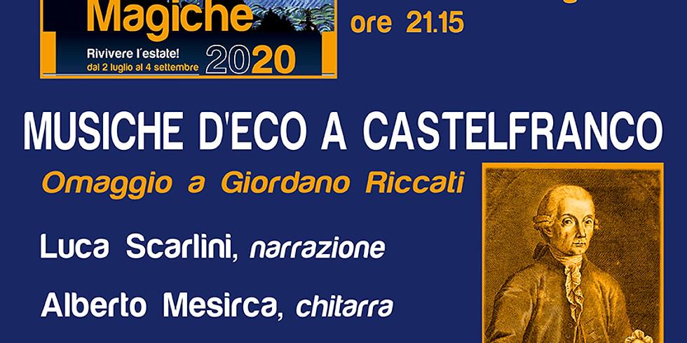 MUSICHE D'ECO A CASTELFRANCO       Omaggio a Giordano Riccati