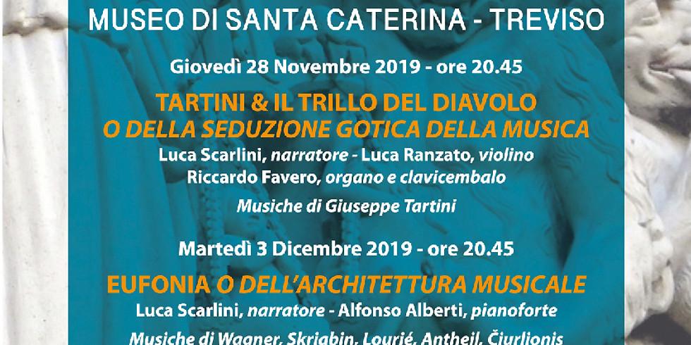 TARTINI & IL TRILLO DEL DIAVOLO O DELLA SEDUZIONE GOTICA DELLA MUSICA