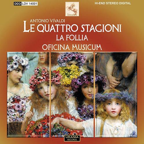 """A. Vivaldi """"LE QUATTRO STAGIONI & LA FOLLIA"""""""