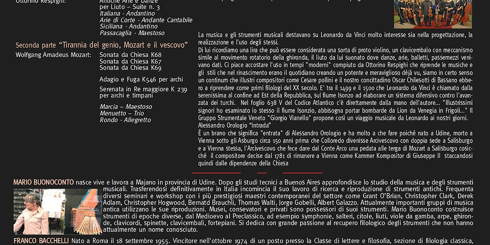 """""""Il genio a confronto, da Leonardo ai giorni nostri"""""""