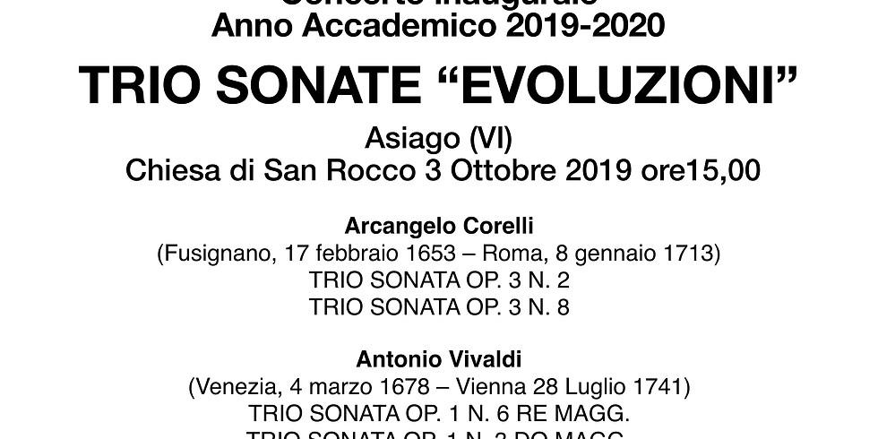 """TRIO SONATE """"EVOLUZIONI"""""""