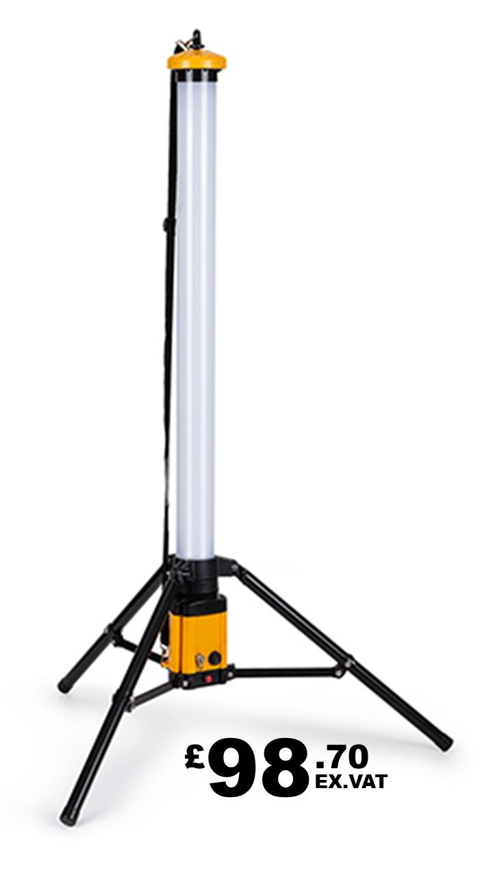 DEFENDER LED RECHARGEABLE UPLIGHT