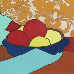 Composition with apples 3