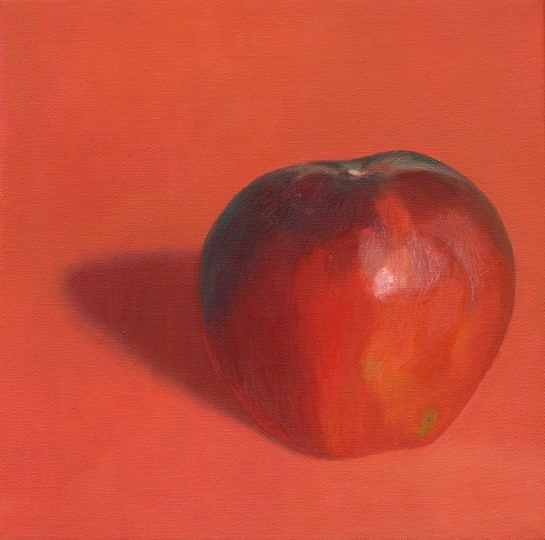 Dark red apple 5