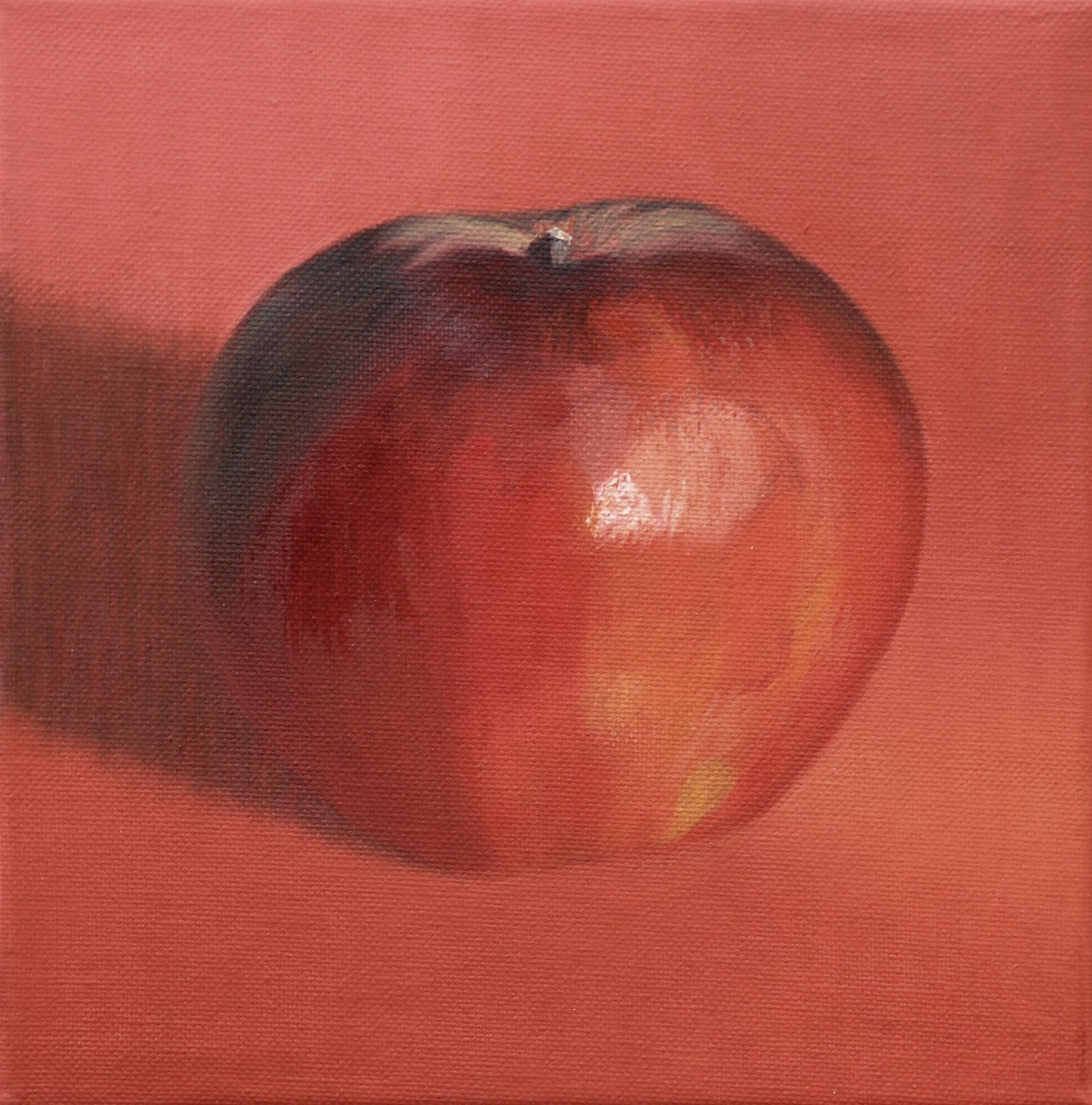 Dark red apple 2