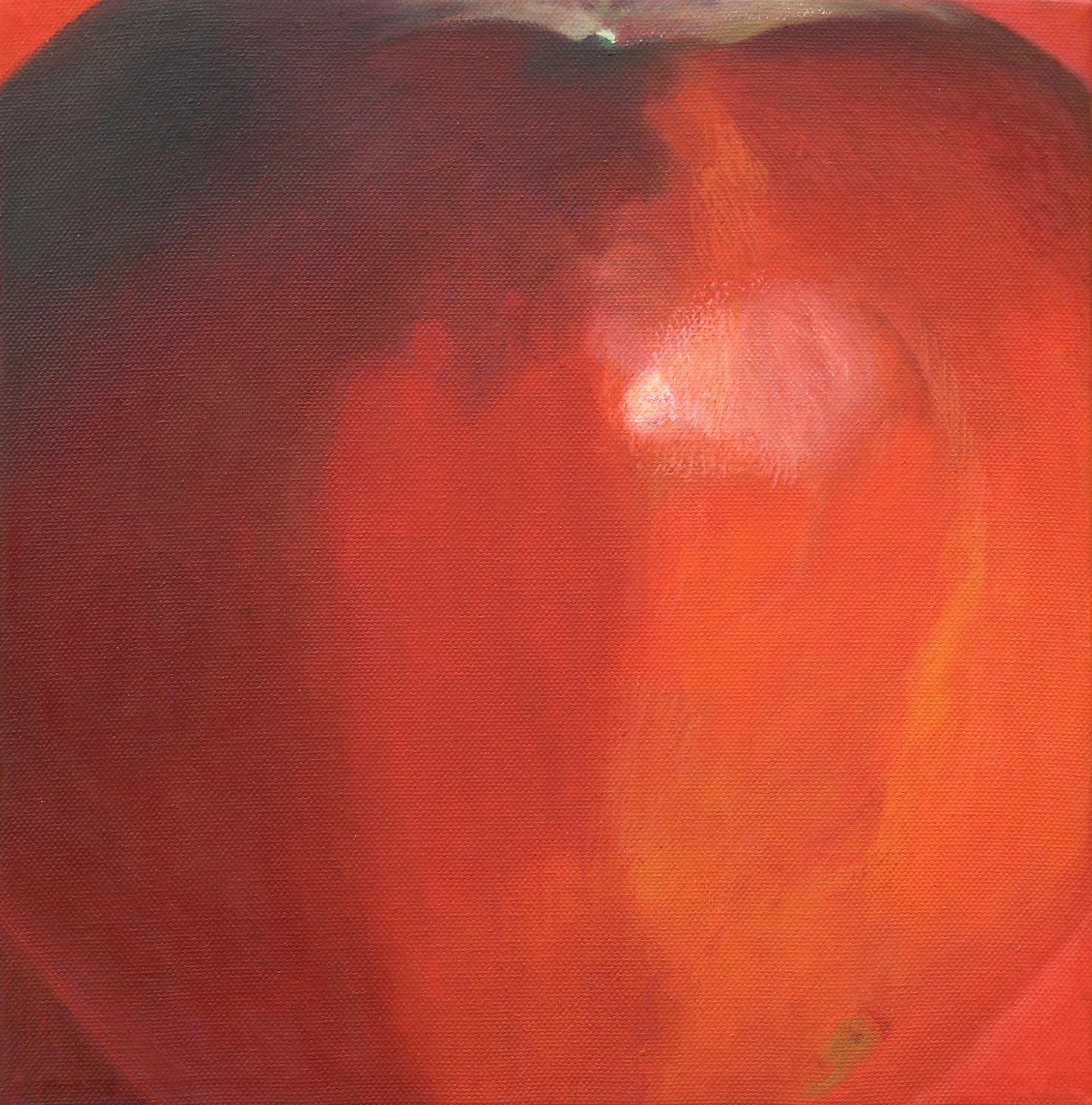Dark red apple 6