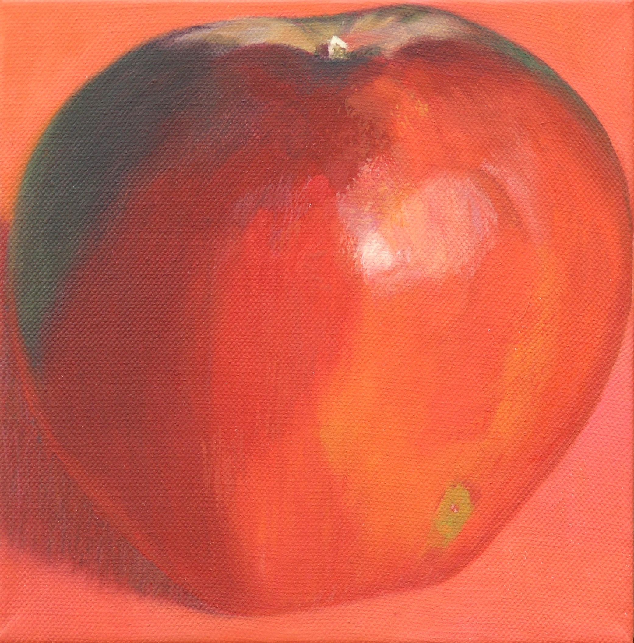 Dark red apple 4