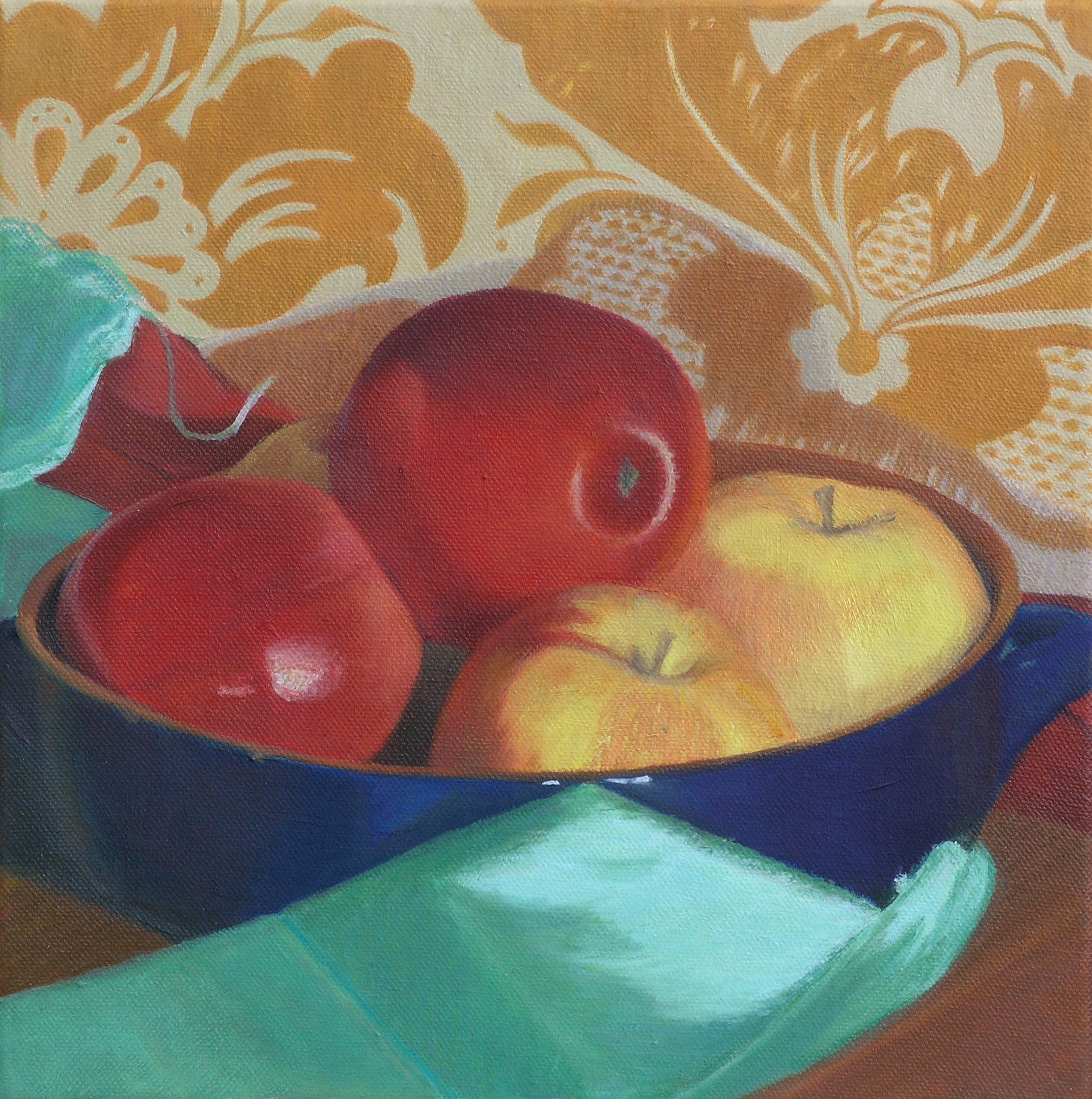 Compostion with apples 1
